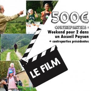 Souscription film 500€
