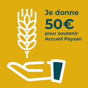 Don à l'association 50€