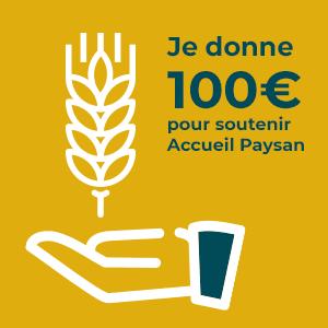 Don à l'association 100€